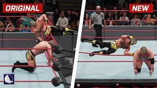 WWE 2K18 Top 10 New Move Variations #9