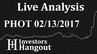 PHOT Stock Live Analysis 02-13-2017