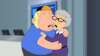 Family Guy - Chris Griffin Kiss an Elderly Woman