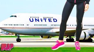 United Airlines Blocks Girls From Flight For Wearing LEGGINGS