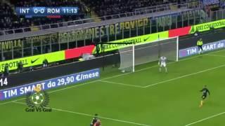 اهداف مباراة..روما 3-1 انتر ميلان/الدوري الايطالي/2017/2/26
