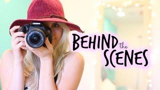 Behind The Scenes: How I Film & Edit Videos!   Aspyn Ovard