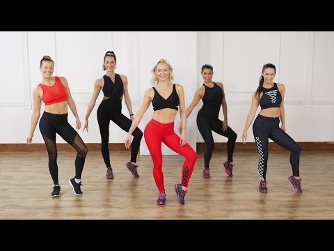 45-Minute Cardio Dance Workout Celebs Love | Class FitSugar
