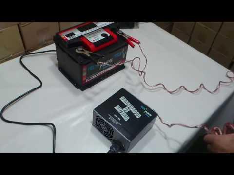 Carregador De Baterias Carro Moto 12 volts Automotivo