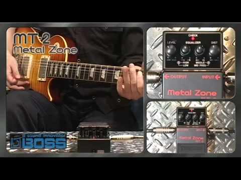 MT 2 Metal Zone BOSS Sound Check