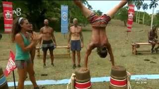 Survivor All Star - Nadya ve Hilmi Cem'den Dans Şov (6.Sezon 40.Bölüm)