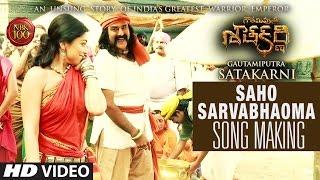 Saaho Sarvabhavma Song Making  Gautamiputra Satakarni  Nandamuri Balakrishna Shriya Saran  Krish