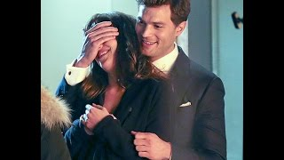 Fifty Shades Darker- Jamie Dornan, Dakota Johnson - CUTEST moments together 2017