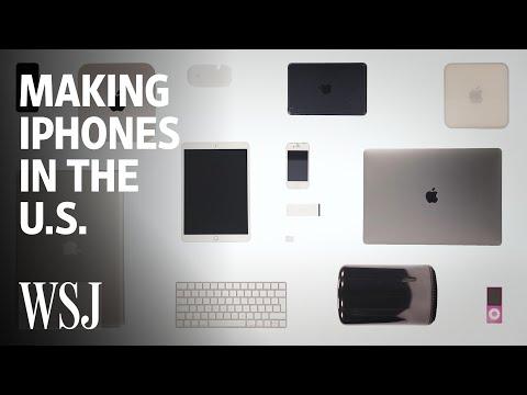 Why Making Apple iPhones in America Is So Hard WSJ