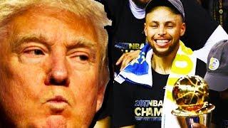NBA Champions Burn Trump