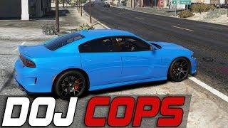 Dept. of Justice Cops #397 - Open Road