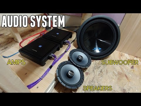 Xxx Mp4 Installing An AWESOME Audio System In The Bus Amps Speakers Subs Head Unit 3gp Sex