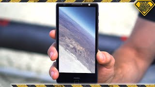 RAW FOOTAGE: Full Phone Flight to 16,800ft