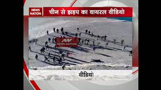 Viral video: Stone-pelting in Ladakh between Chinese and Indian soldiers