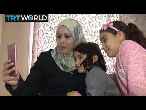 The War in Syria: Refugees struggle to stay in touch with family