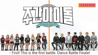 2015 | BTS and Twice at Weekly Idol  best moments compilation (FM) | Bangtwice