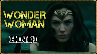 Wonder Woman Trailer Reaction/ Review in HINDI | DC India