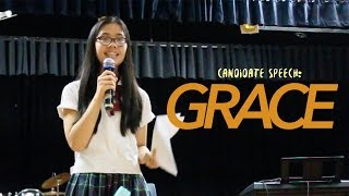 Candidate Speech - Grace