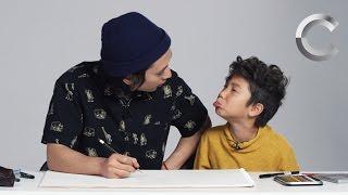 Kids Describe Donald Trump to an Illustrator