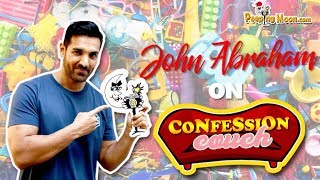 John Abraham On Confession Couch | PeepingMoon