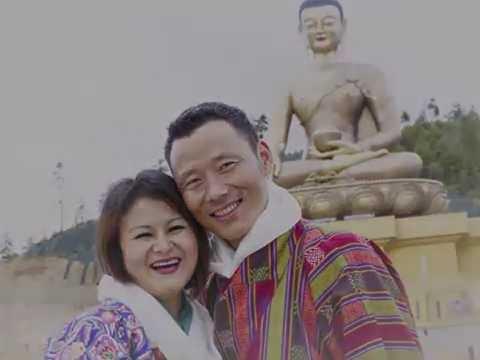 Bhutanese beautiful couple newly married