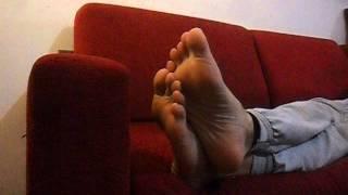 relaxing male soles