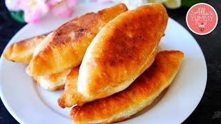 Piroshki Recipe with Potato & Mushrooms   Пирожки с грибами и картошкой