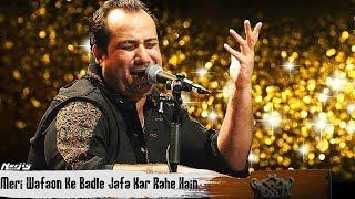 Wafaon Ke Badle Jafa Kar Rahe Hain | Qawwali By Ustad Rahat Fateh Ali Khan