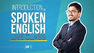 Day 1- Introduction to Spoken English Live Class [Skill Development]