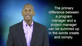 Program and Project Management Roles