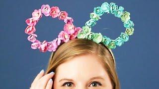 Mickey Ear Headband Inspired by Sleeping Beauty | Disney Style DIY