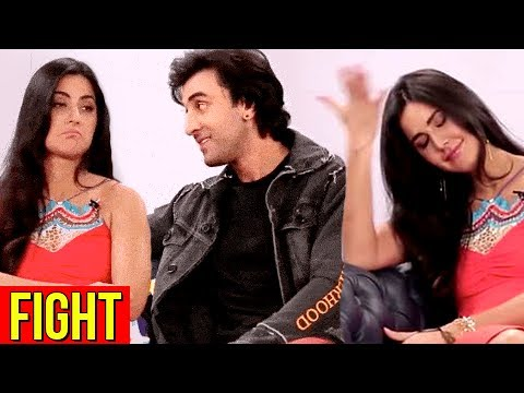 Katrina Kaif SHUTS DOWN Ranbir Kapoor, FIGHT During Interview