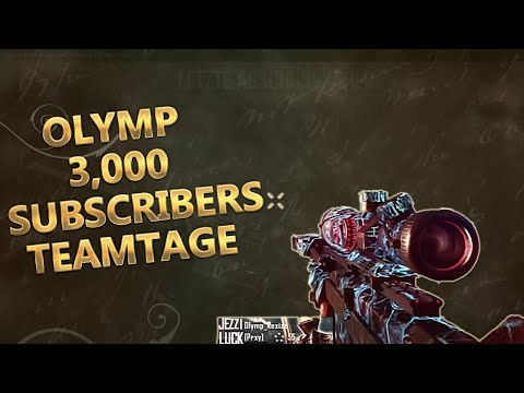 OfficialOlympus: 3,000 Subscribers Teamtage || @ObeyScarce