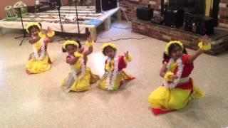 Megher Kole Rode Hesechhe - Dance performance by - Jiya, Sheisha, srisja and Amiti