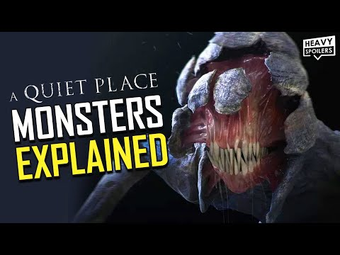 A QUIET PLACE Part 2 Monsters Explained Alien Origins Theories And The Detail Everyone Missed
