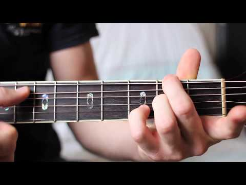 DF#    EASY Guitar Chord Tutorial