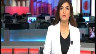 علا الفارس في نشرة اخبار  mbc ليوم  الخميس 10  يناير 2013  - 1