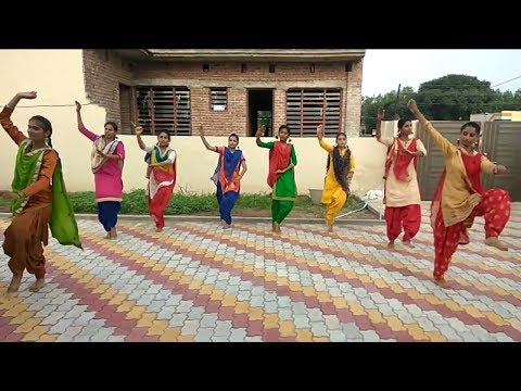 Girls bhangra beautiful bhangra watch and share