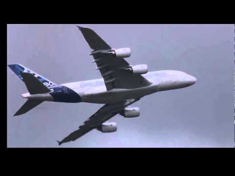 Unbelievable Airbus A380 Vertical Take off Amazing Paris Air show Video HD - STABILIZED