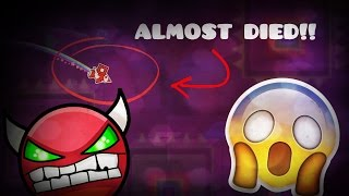 How Close was Krazyman to Dying on Invisible Deadlocked? [Geometry Dash 2.02]