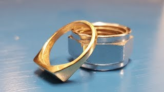 Wow!! Ring from a Nut
