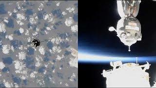 Soyuz MS-09 docking