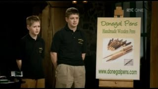 Donegal Pens on RTE's Junior Dragons' Den 5th May 2013