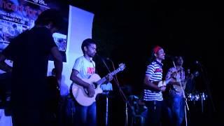 Concert for Nepal by Gaan Poka at TSC, University of Dhaka. 2