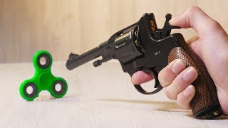 EXPERIMENT GUN vs Fidget Spinner
