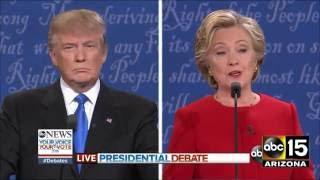 FULL: Fiery Presidential Debate - Donald Trump vs. Hillary Clinton