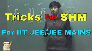 Tricks & Concepts to find TIME PERIOD in SHM   For IIT JEE/JEE MAINS  By-Kartikey Pandey(IIT BHU)
