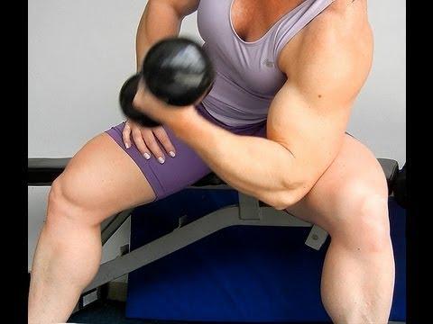 DRA RITZ TV Treinamento de Bíceps com Halteres