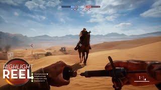 Highlight Reel #310 - Battlefield 1 Medic Poisons Brave Jockey