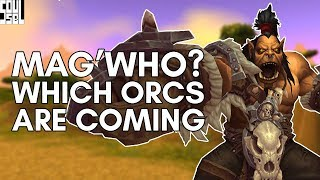 Draenor Orcs? Speculating the New Race in World of Warcraft Battle for Azeroth